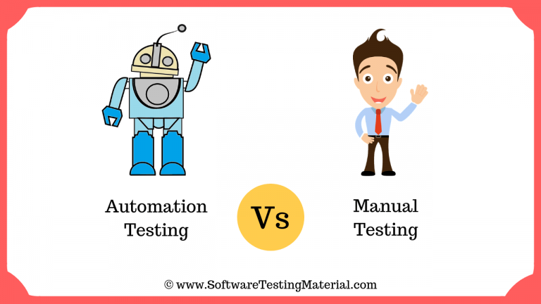 Automation Testing Vs Manual Testing | Important Differences You Must Know