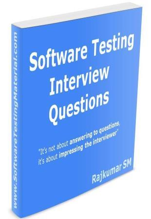 Software Testing Interview Questions eBook