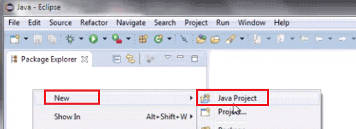 Install Selenium WebDriver - Create Java Project