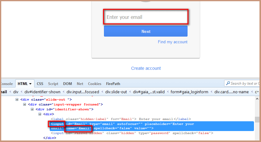 Locate Element By CSS Selector Locator Tag Attribute Value