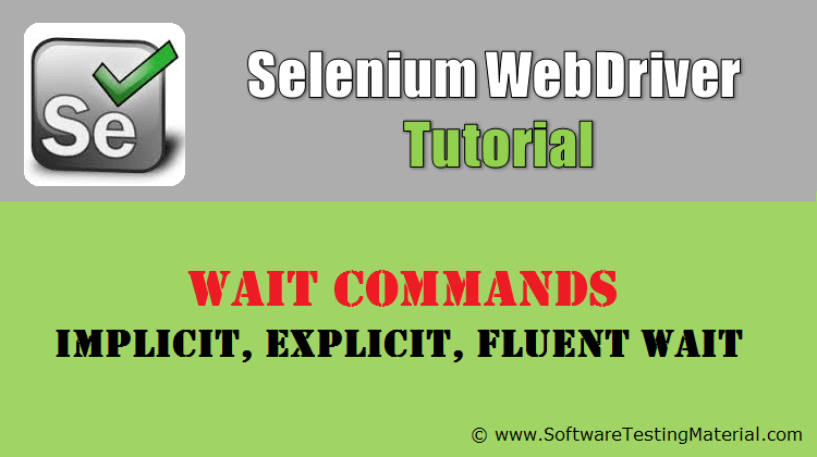 Selenium Wait Commands