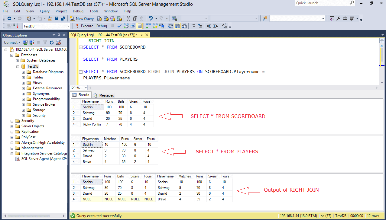 Sql Joins Right Join