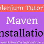Install Maven In Eclipse IDE