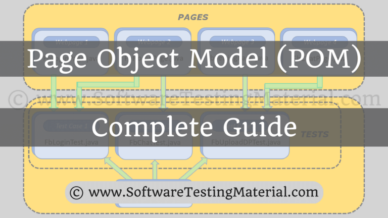 Page Object Model with Page Factory in Selenium – Complete Guide