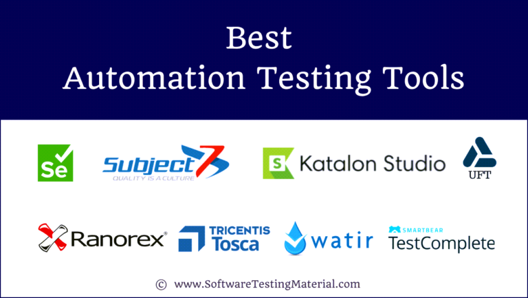 Best Automation Testing Tools in 2021 (Top 18+ reviews)