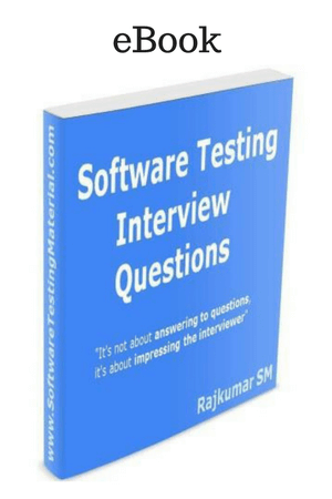 eBook Software Testing Interview Questions