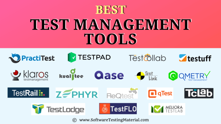 Best Test Management Tools That Must Be Used in 2021