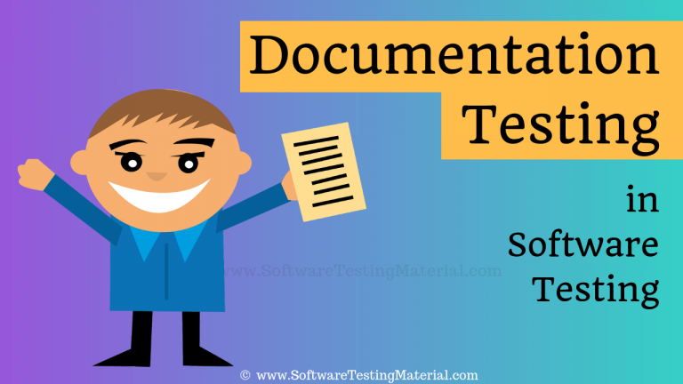 What is Documentation Testing in Software Testing
