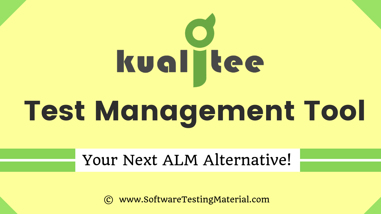 Kualitee Test Management Tool
