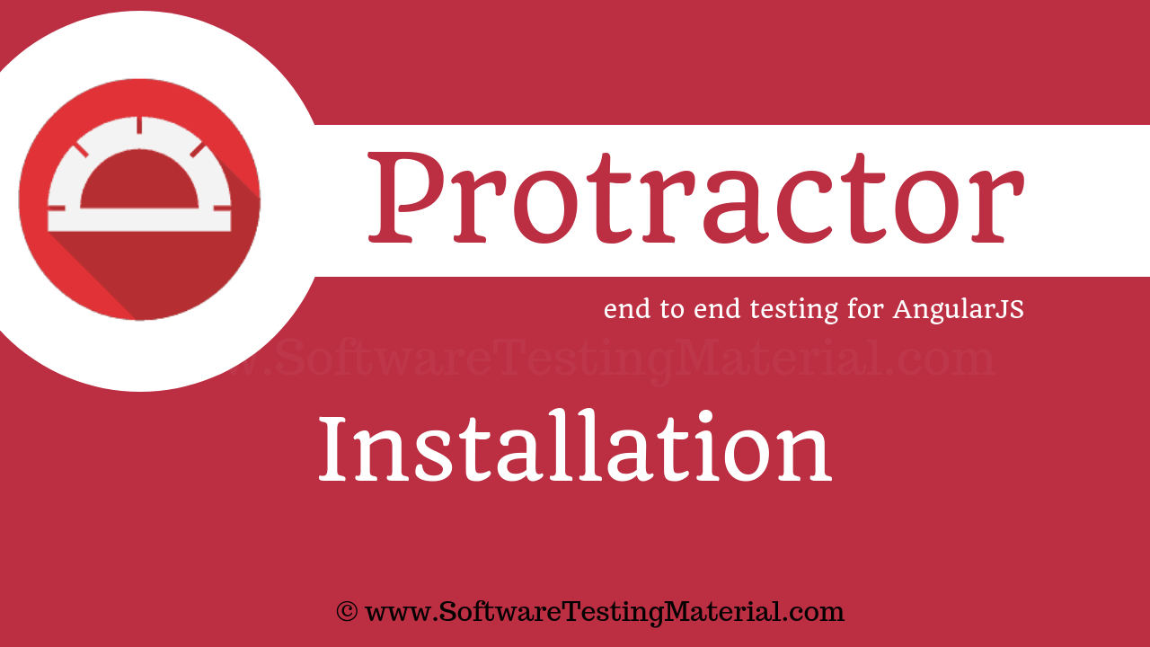 Protractor Installation
