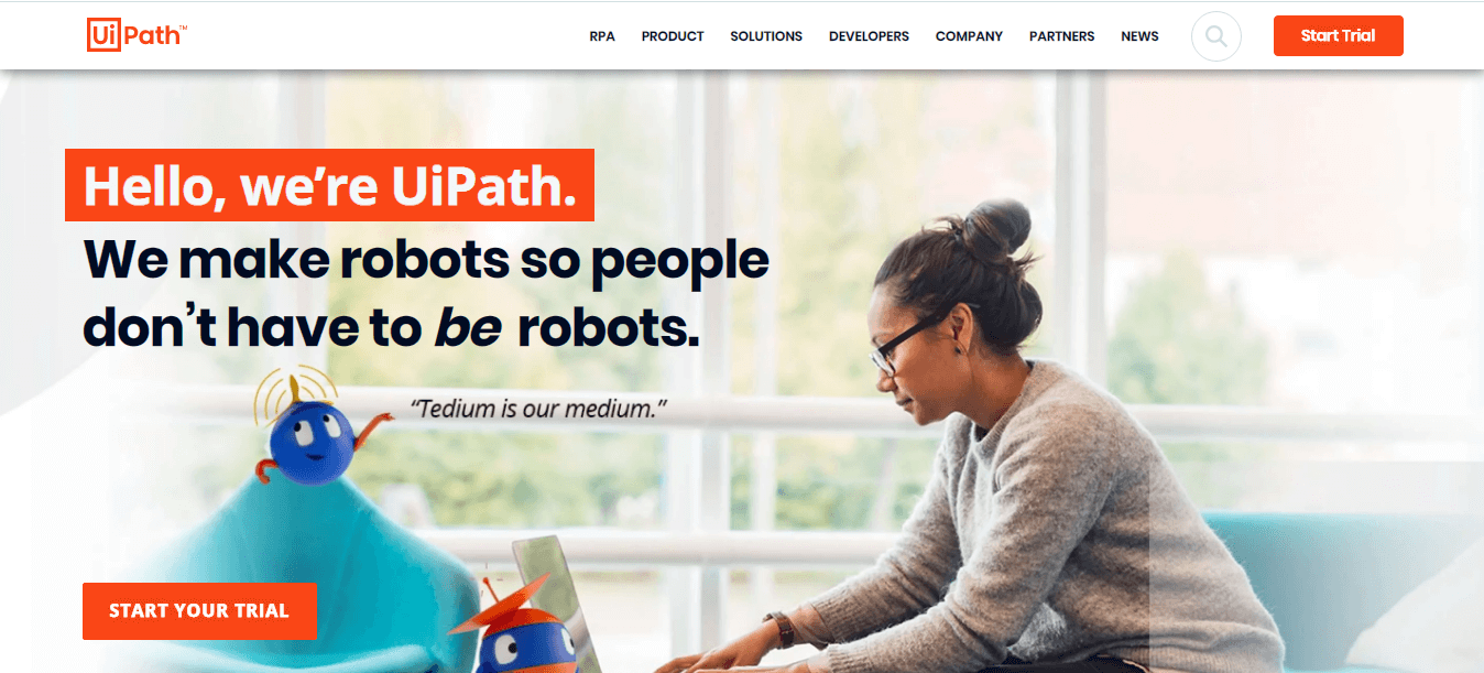 UiPath Robotic Process Automation Tool