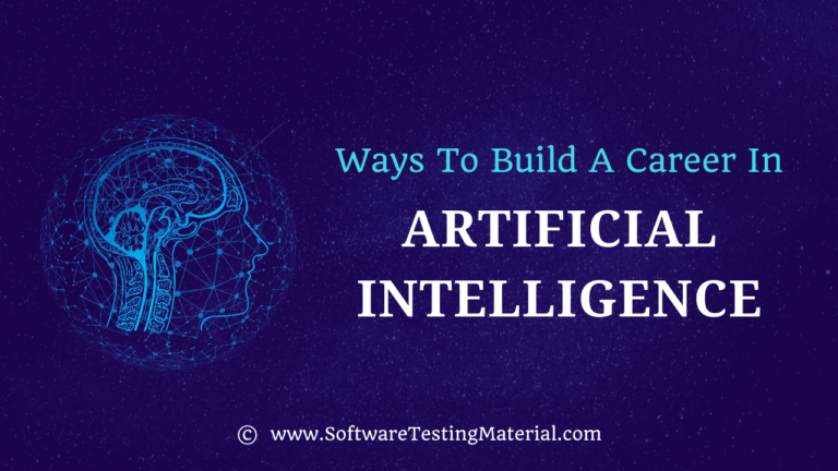Best ways to Build a Career in Artificial Intelligence