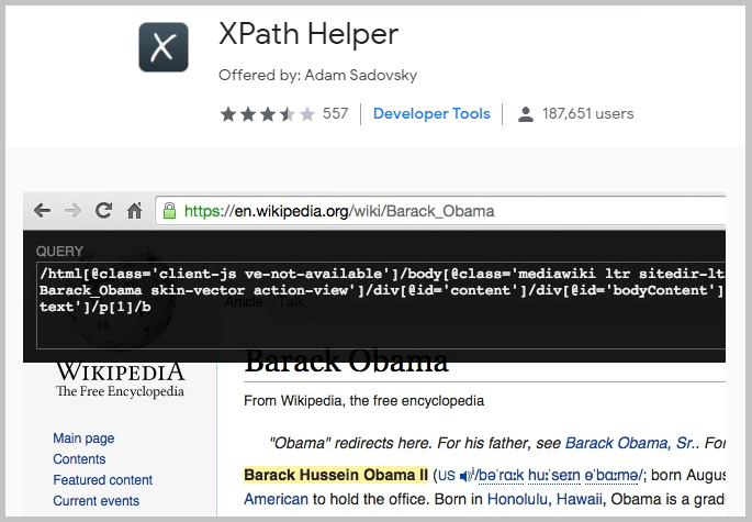 XPath Helper