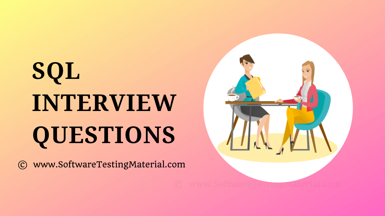 Advanced SQL Interview Questions And Answers