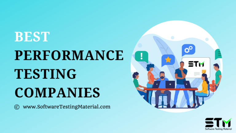 Best Performance Testing Companies (Service Providers) in 2021