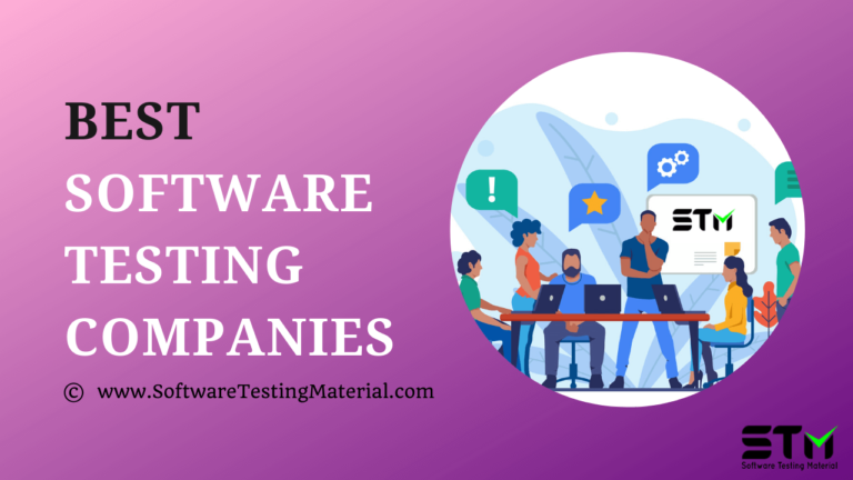 Best Software Testing Companies in 2021