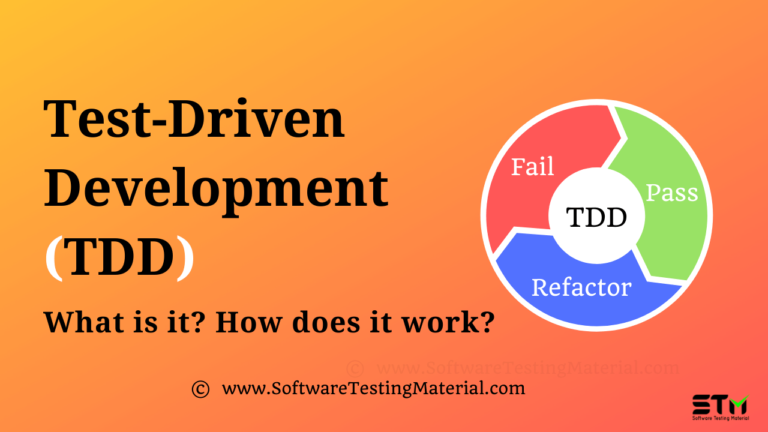 What is Test-Driven Development? How does It work?