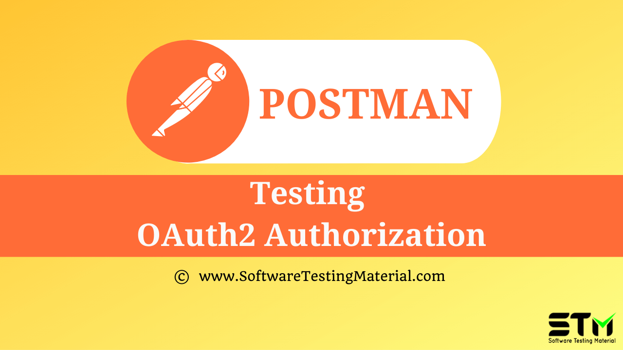 Testing OAuth2 Authorization In Postman