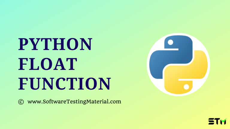 Python float() Function Explained with Examples