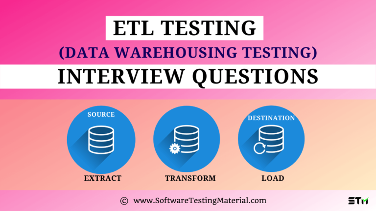 Top 20 ETL Testing Interview Questions & Answers