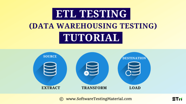 ETL Testing – A Complete Guide