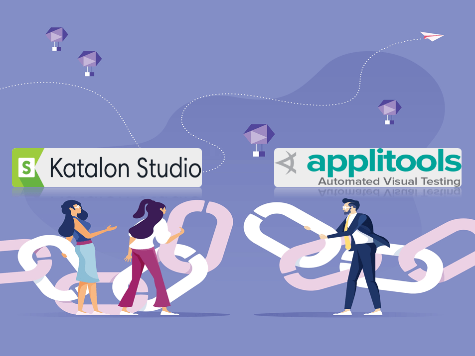 Integration Katalon Studio AppliTools