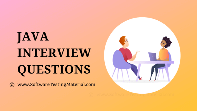 Java Interview Questions