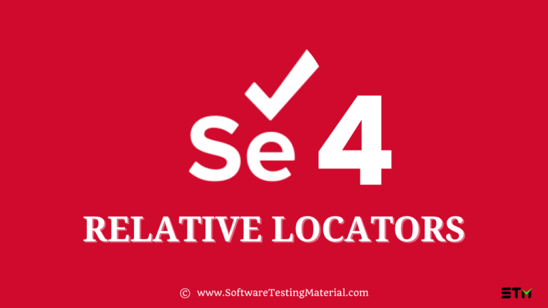 What Are Selenium Relative Locators And How To Use Them