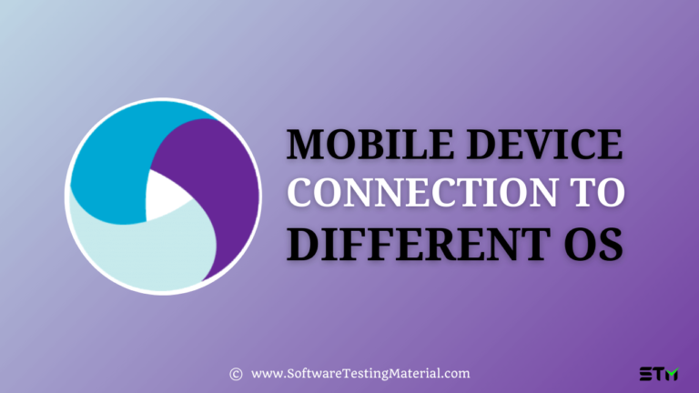 How To Connect Mobile Device To Different OS