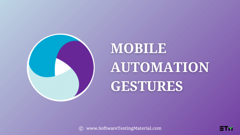 Mobile Automation Gestures Complete Guide (Basics to Advanced)