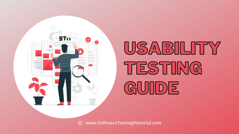 Usability Testing | How To Perform, Test Cases, Checklist, Methods
