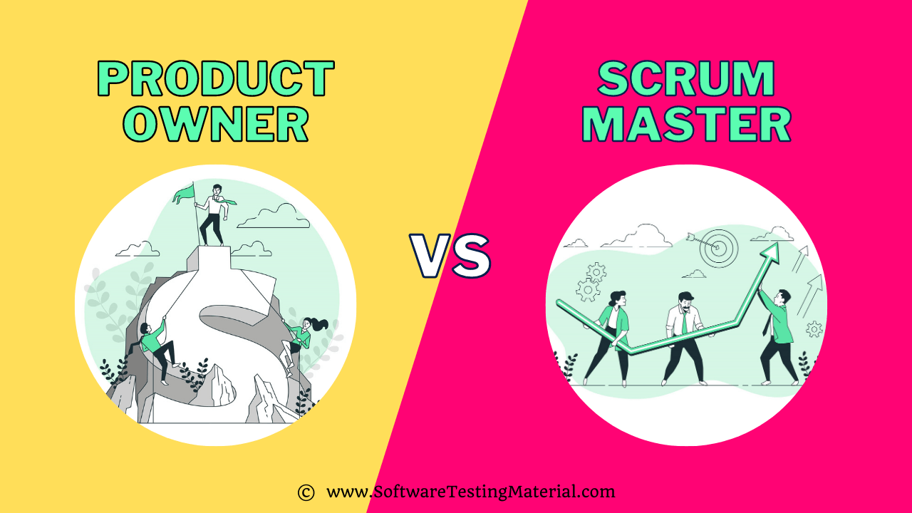 Product Owner vs Scrum Master