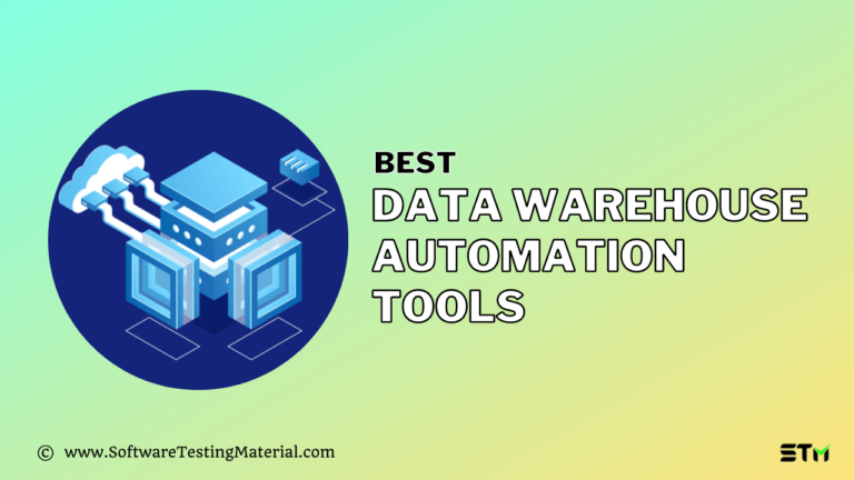 11 Best Data Warehouse Automation Tools in 2021