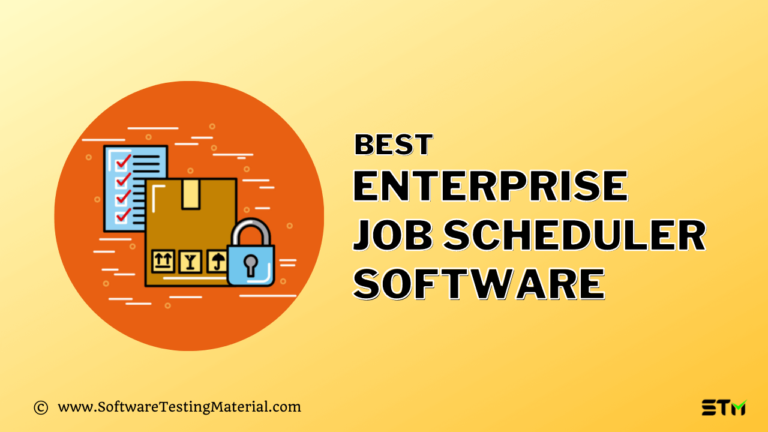 11 Best Enterprise Job Scheduler Software (Free and Paid) in 2021