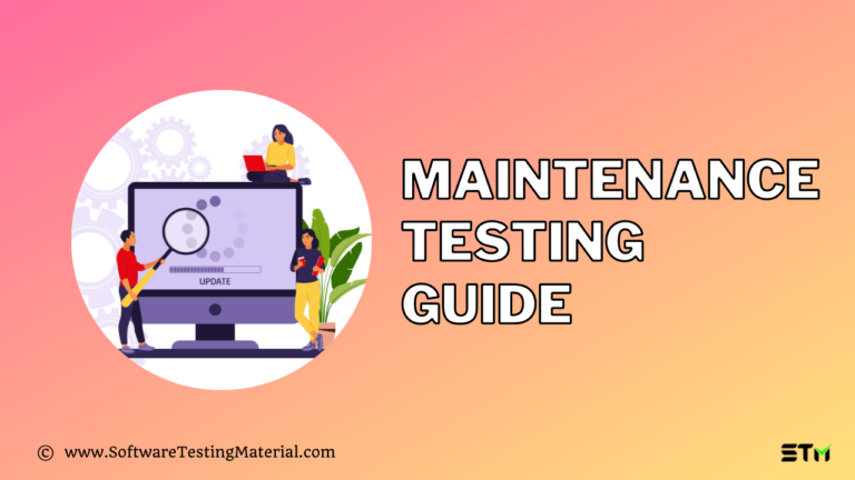 Maintenance Testing Guide | You Should Know