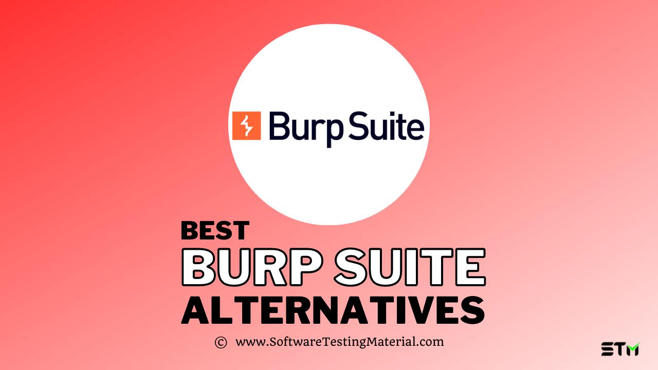Burp Suite Alternatives