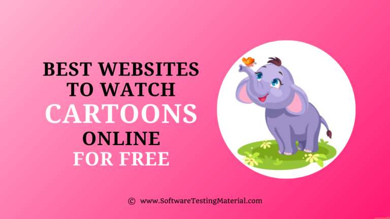 Best Websites To Watch Cartoons Online For Free in HD